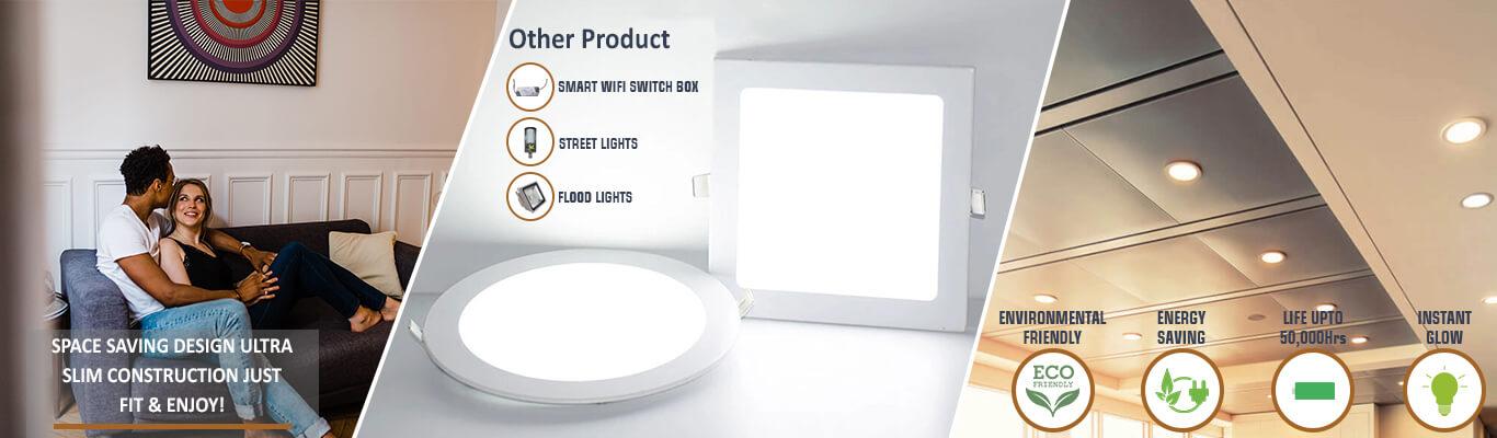 Smart WiFi Panel Lights