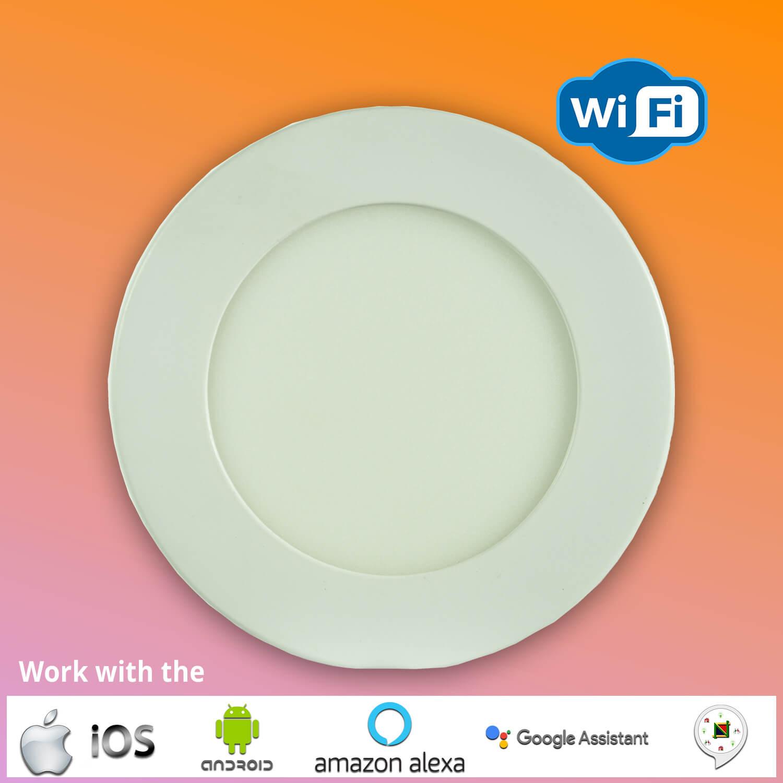 LED Smart WiFi Surface Round Light -COOOLED