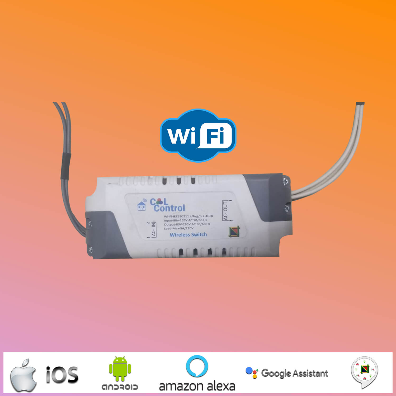 Smart WiFi Switch Box