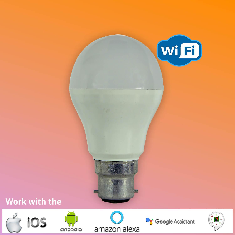 Smart WiFi LED Bulb-COOOLED