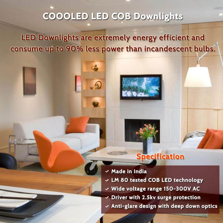 LED COB Downlights Light -COOOLED